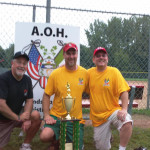 AOH_Softball_Bash_2011_Tom_Keane,_Jason_King_of_Danbury,_Jim_Murray_Activities_Chairman_AOH_JFK_Bridgeport
